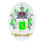 Barbacci Ornament (Oval)
