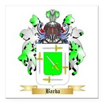 Barba Square Car Magnet 3