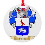 Baraux Round Ornament