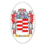 Barattini Sticker (Oval)