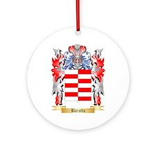 Baratta Ornament (Round)