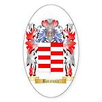 Baratoux Sticker (Oval 50 pk)