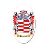 Baratoux 35x21 Oval Wall Decal