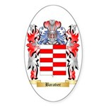 Baratier Sticker (Oval 50 pk)
