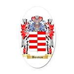 Barateau Oval Car Magnet