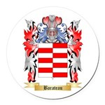 Barateau Round Car Magnet