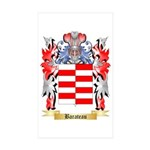 Barateau Sticker (Rectangle 50 pk)
