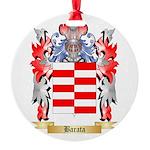 Barata Round Ornament