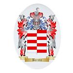 Barata Ornament (Oval)