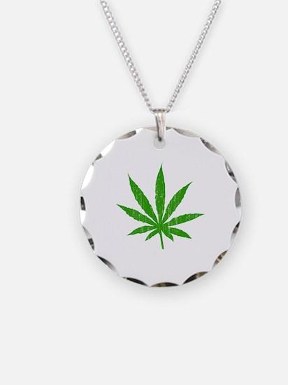 Marijuana Leaf Necklace