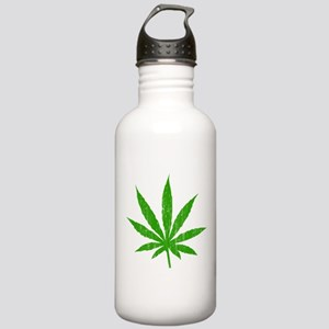 Marijuana Leaf Stainless Water Bottle 1.0L