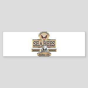 USN Seabees Est. 1942 Bumper Sticker