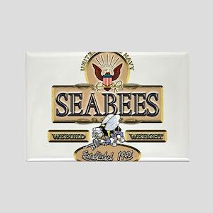 USN Seabees Est. 1942 Rectangle Magnet