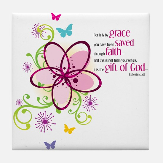For it is by Grace you have been Saved Tile Coaste