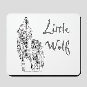 Little Wolf Mousepad
