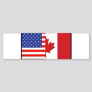 USA/Canada Bumper Sticker