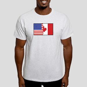 USA/Canada Ash Grey T-Shirt