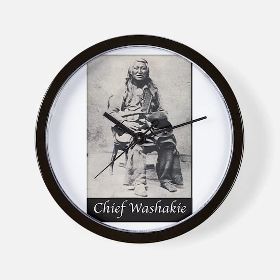 Chief Washakie Wall Clock
