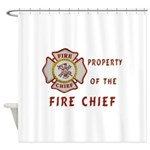 Fire Chief Property Shower Curtain