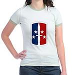 189th Infantry Bde Jr. Ringer T-Shirt