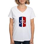 189th Infantry Bde Women's V-Neck T-Shirt