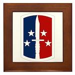 189th Infantry Bde Framed Tile