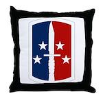 189th Infantry Bde Throw Pillow