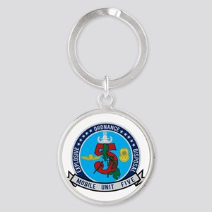EOD Mobile Unit 5 Round Keychain