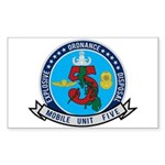 EOD Mobile Unit 5 Sticker (Rectangle)