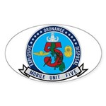 EOD Mobile Unit 5 Sticker (Oval)