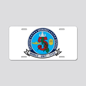 EOD Mobile Unit 5 Aluminum License Plate