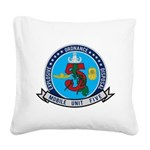 EOD Mobile Unit 5 Square Canvas Pillow