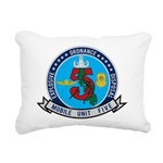 EOD Mobile Unit 5 Rectangular Canvas Pillow