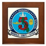 EOD Mobile Unit 5 Framed Tile