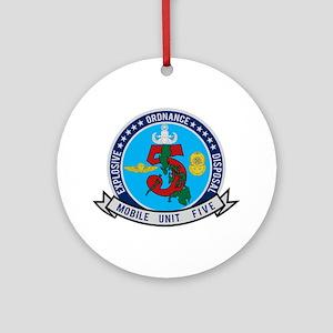 EOD Mobile Unit 5 Ornament (Round)