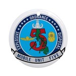 EOD Mobile Unit 5 Ornament (Round)