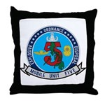 EOD Mobile Unit 5 Throw Pillow