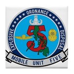 EOD Mobile Unit 5 Tile Coaster