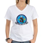 EOD Mobile Unit 5 Women's V-Neck T-Shirt