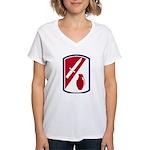192nd Infantry Bde Women's V-Neck T-Shirt