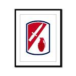192nd Infantry Bde Framed Panel Print
