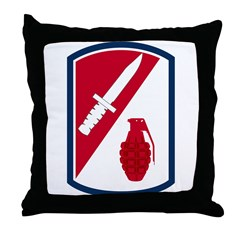 192nd Infantry Bde Throw Pillow