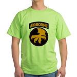 17th Airborne Green T-Shirt