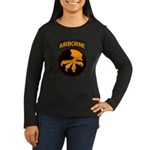 17th Airborne Women's Long Sleeve Dark T-Shirt
