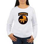 17th Airborne Women's Long Sleeve T-Shirt