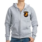 17th Airborne Women's Zip Hoodie