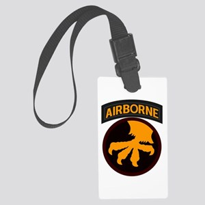 17th Airborne Large Luggage Tag