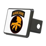 17th Airborne Rectangular Hitch Cover