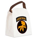 17th Airborne Canvas Lunch Bag