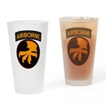 17th Airborne Drinking Glass